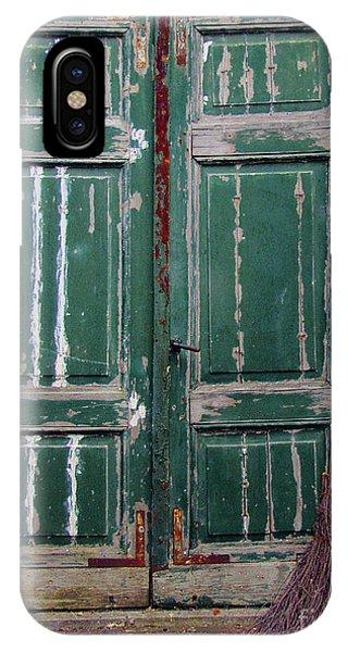 Broom Door IPhone Case