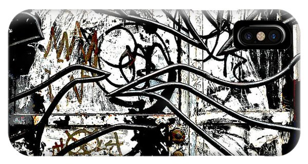 Broome Street Found Art Nyc IPhone Case