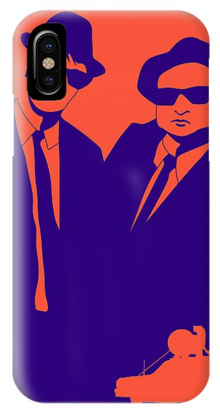 Minimalist iPhone Case - Brothers Poster by Naxart Studio