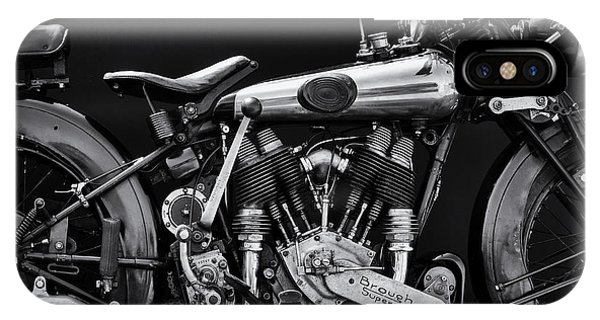 Superior iPhone Case - Brough Superior by Tim Gainey
