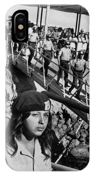 1972 iPhone Case - Brown Berets Leave Catalina by Underwood Archives