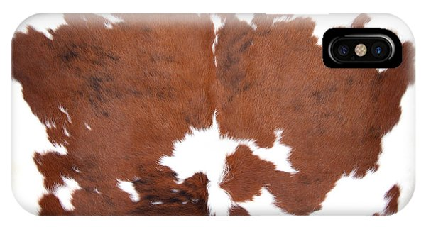 Brown Cowhide IPhone Case