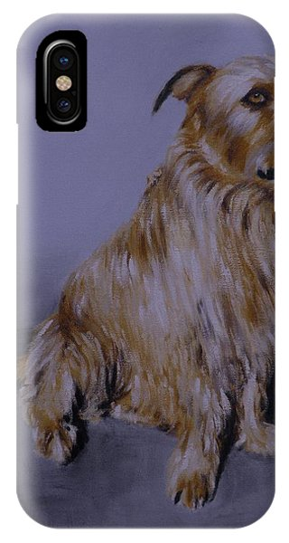 Brown Dog IPhone Case