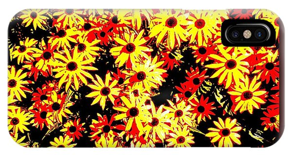Brown Eyed Susans I IPhone Case