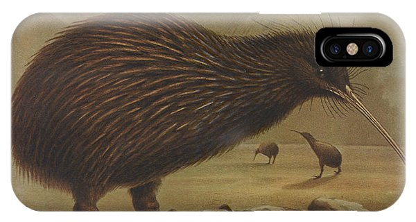 Brown Kiwi IPhone Case