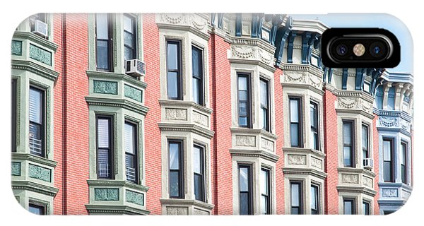Brownstone iPhone Case - Brownstone Art Hoboken Nj by Regina Geoghan