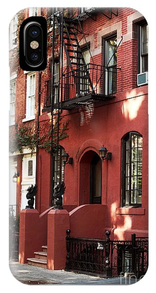 Old School Galleries iPhone Case - Brownstone by John Rizzuto