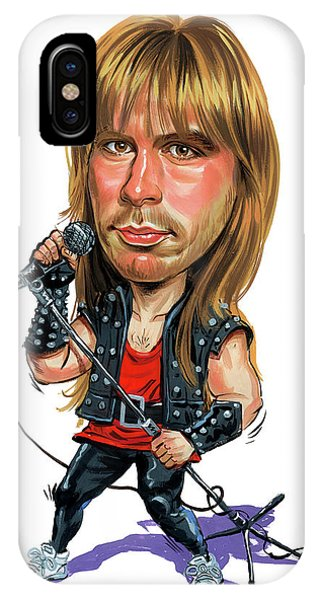 Bruce Dickinson Phone Case by Art