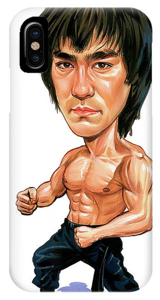 Bruce Lee Phone Case by Art