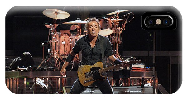 Bruce Springsteen In Concert IPhone Case