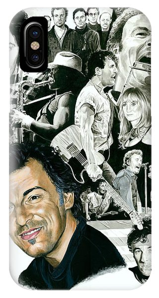 Bruce Springsteen Through The Years IPhone Case