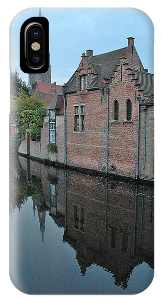 Bruges Canal IPhone Case