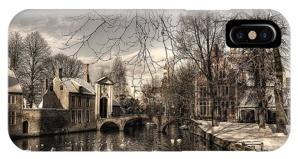 Bruges In Christmas Dress IPhone Case