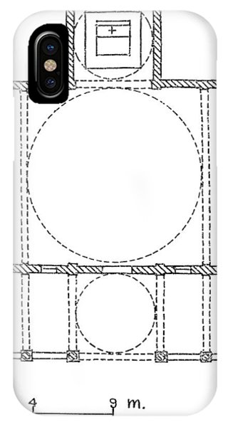 Brunelleschi: Pazzi Plan IPhone Case
