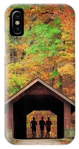 Brush Creek Covered Bridge IPhone Case