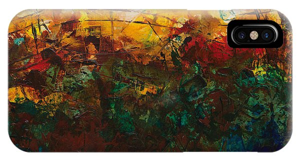 iPhone Case - Brush Fire by Julie Acquaviva Hayes