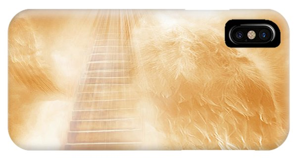 Brush Of Angels Wings IPhone Case