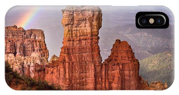 Bryce Canyon In Rain IPhone Case