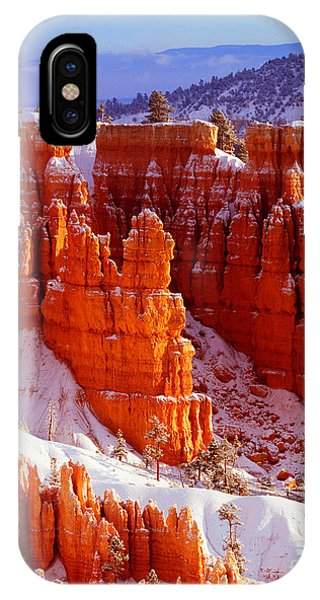 Bryce Canyon In Snow IPhone Case