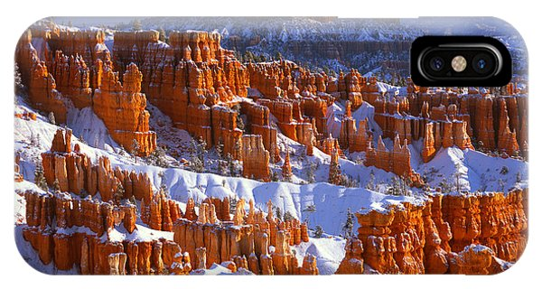 Bryce Canyon In Winter IPhone Case