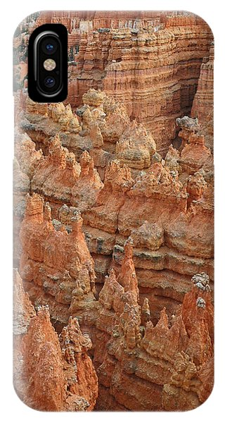 Bryce Canyon National Park Formations With Trees IPhone Case