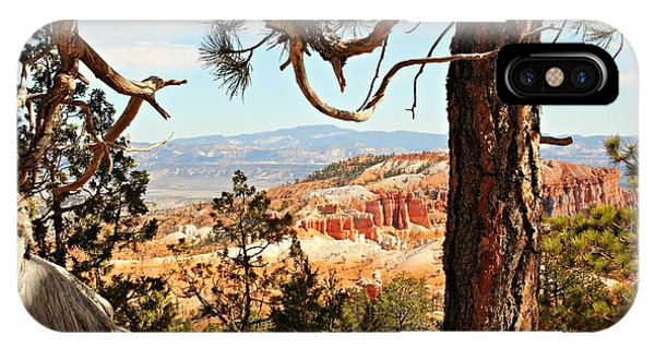 Bryce Canyon Through The Trees IPhone Case