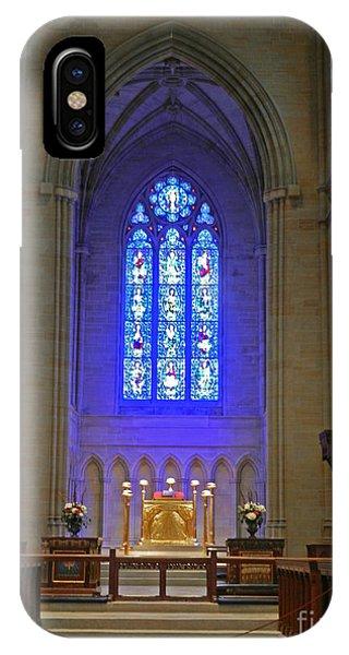 Bryn Athyn Cathedral Altar IPhone Case