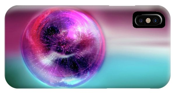 Astrophysical iPhone Case - Bubble Universe by Detlev Van Ravenswaay