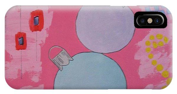 Bubblegum Christmas IPhone Case
