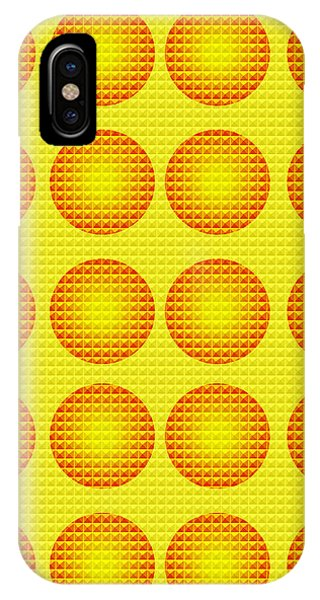 Bubbles Honeycomb Warhol  By Robert R IPhone Case