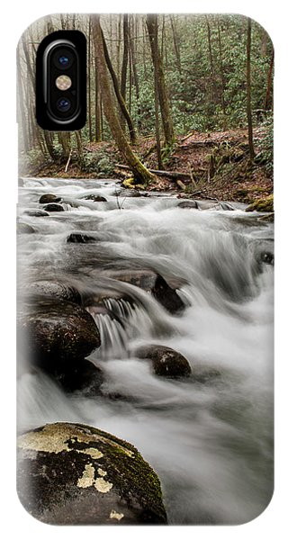 Bubbling Mountain Stream IPhone Case