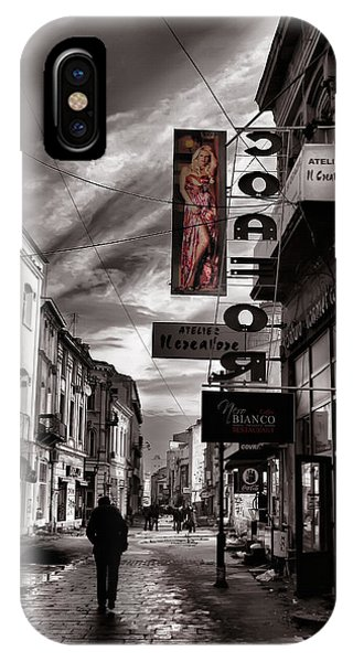 Bucharest Street IPhone Case