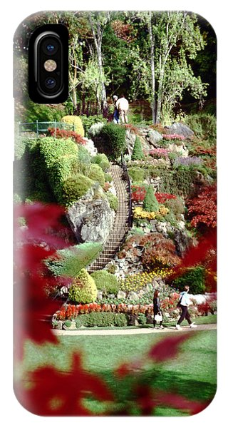 Buchart Gardens IPhone Case