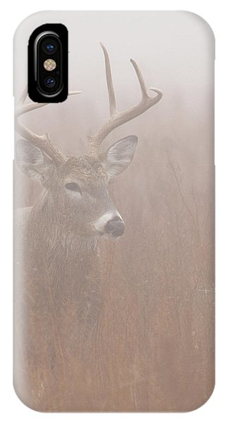 Buck In Fog IPhone Case