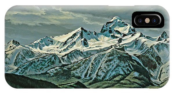 Teton iPhone Case - Buck Mountain From Antelope Flat by Paul Krapf