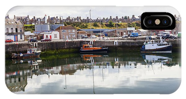 Buckie Harbour IPhone Case