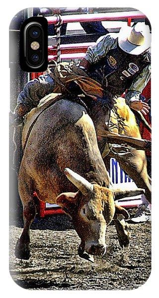 Buckin Bull IPhone Case