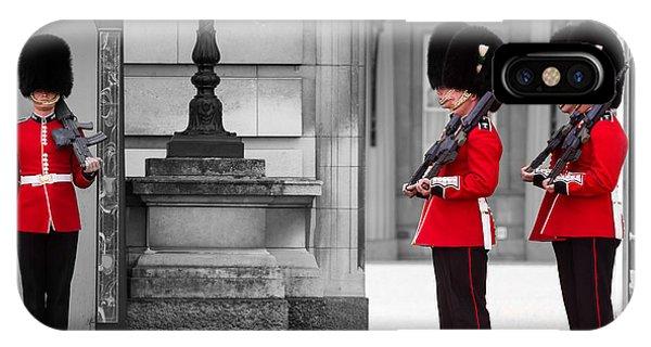 Buckingham Palace Guards IPhone Case