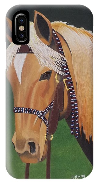 Buckskin Horse IPhone Case