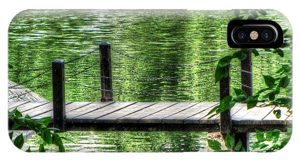 She iPhone Case - Budapesh Lake by Yury Bashkin