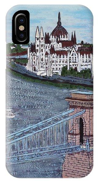Budapest Bridge IPhone Case