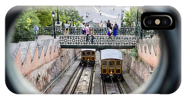 Budapest Castle Hill Funicular IPhone Case
