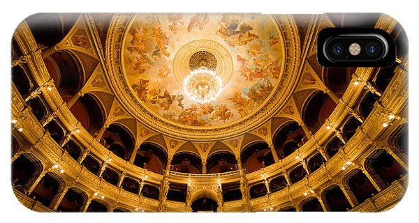 Budapest Opera House Auditorium IPhone Case