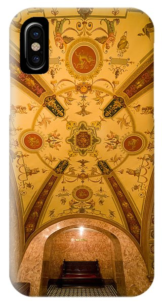 Budapest Opera House Foyer Ceiling IPhone Case