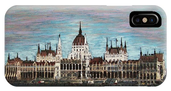 Budapest Parliament By Jasna Gopic IPhone Case