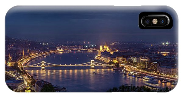 Palace iPhone X Case - Budapest by Thomas D M?rkeberg