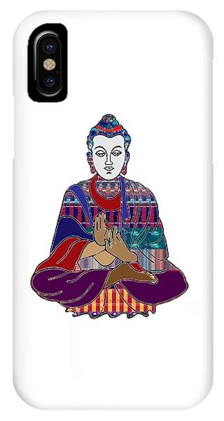 Rights Managed Images iPhone Case - Buddha In Meditation Buddhism Master Teacher Spiritual Guru By Navinjoshi At Fineartamerica.com by Navin Joshi