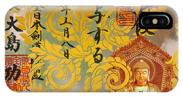 Corporate Art Task Force iPhone Case - Buddha  by Corporate Art Task Force