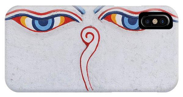 Buddha Eyes IPhone Case