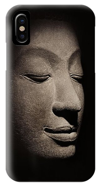 Buddha Head From The Early Ayutthaya Period IPhone Case